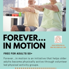 Forever ... In Motion at the White City Community Centre