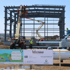 Waste Water Treatment Plant Construction Underway