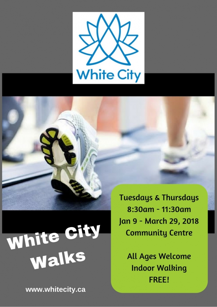 White City Walks: Jan to Mar 2018