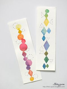Artsy Fartsy Club - Watercolour Bookmarks at the White City Regional Library