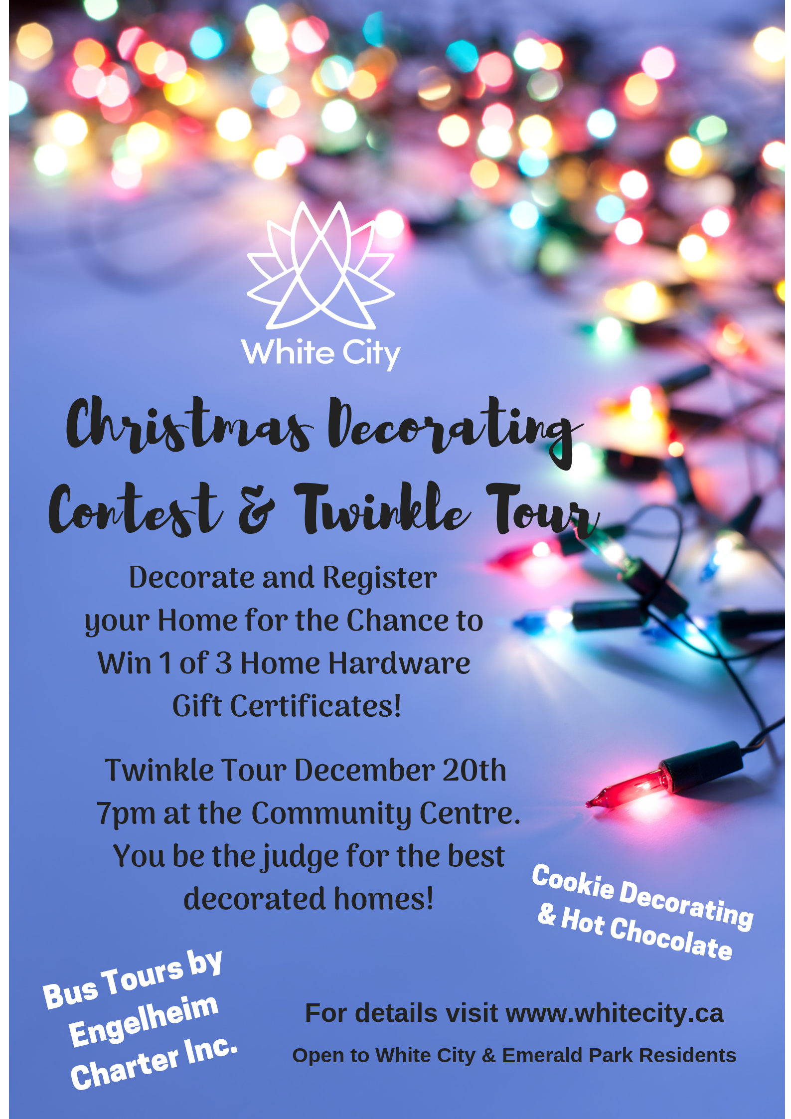Christmas Decorating/Twinkle Tour
