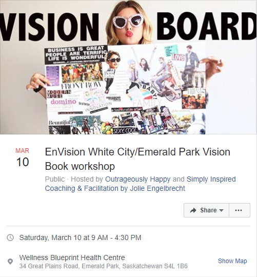EnVision White City/Emerald Park Vision Book Workshop