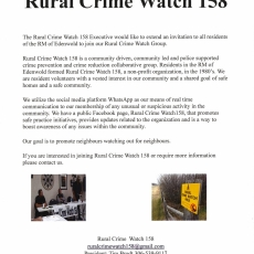 Rural Crime Watch 158