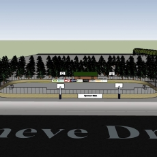 Construction Begins on Outdoor Rink