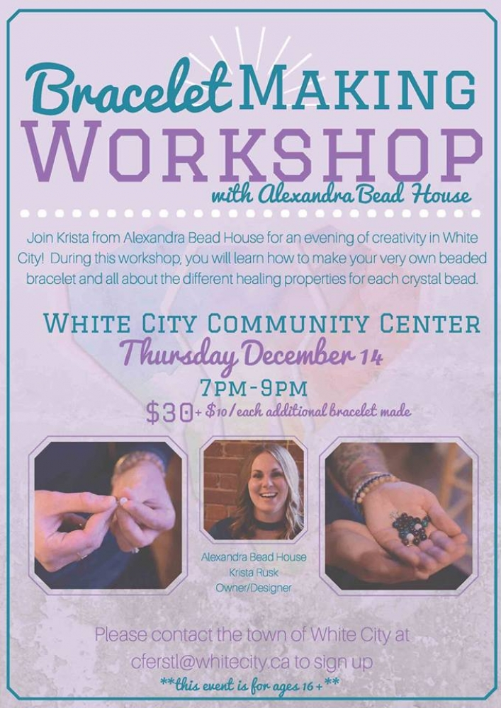 Bracelet Making Workshop: Dec 14, 2017