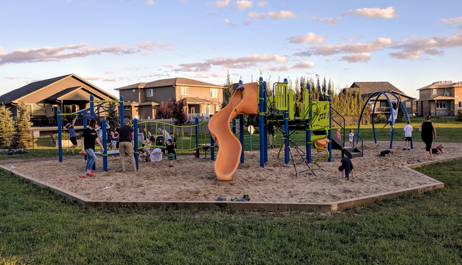Churchill Play Structure Open to Public