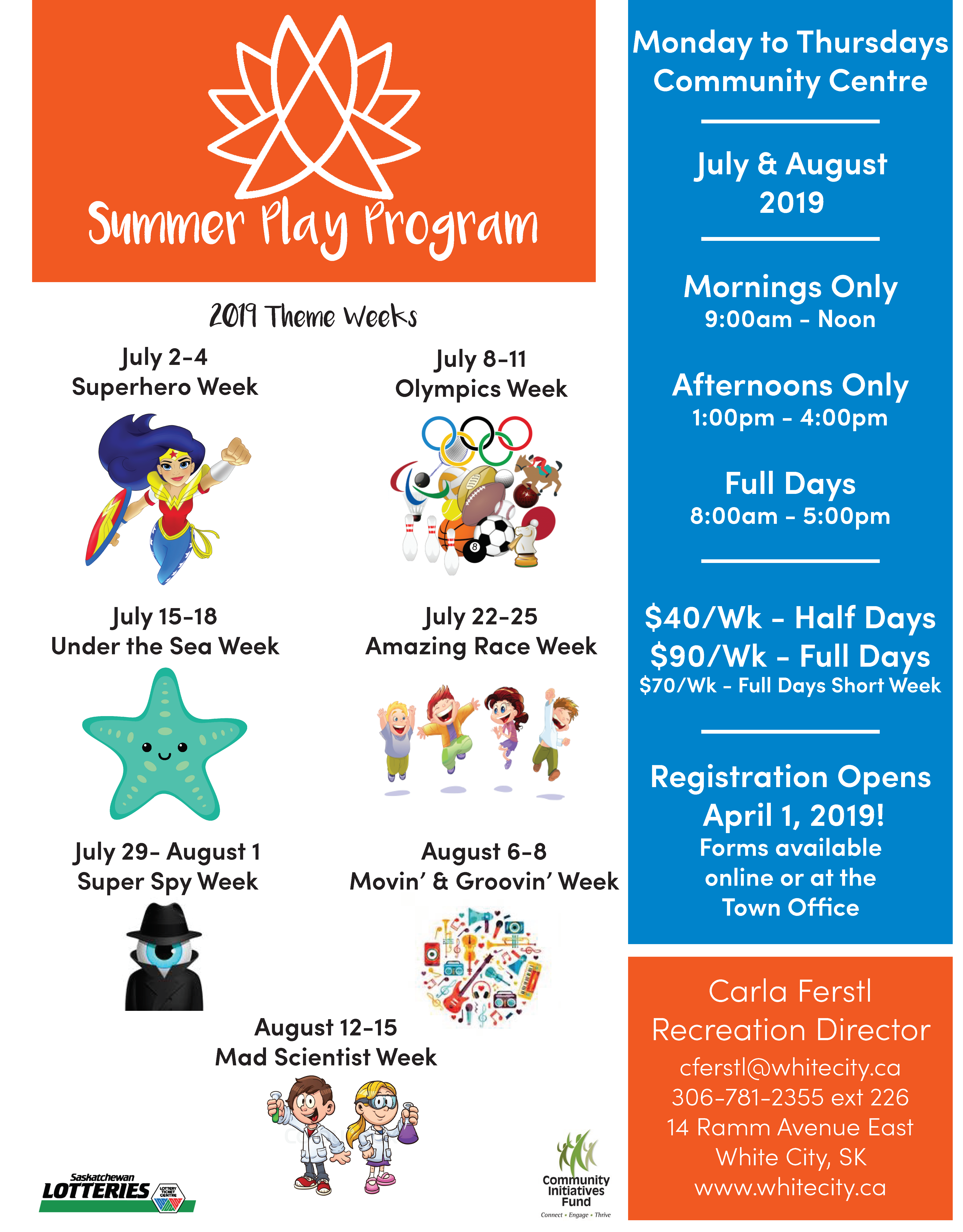 Summer Play Registration is Open! - Image 1