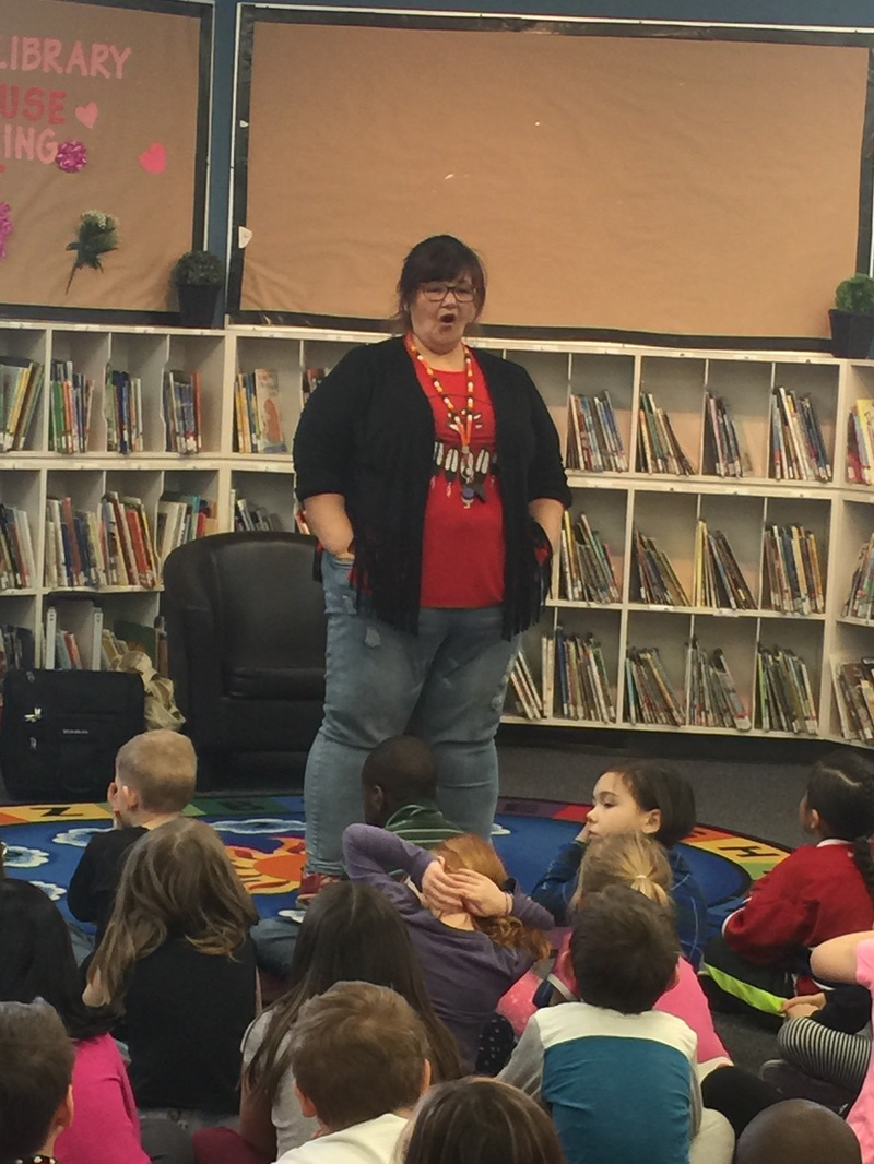 Aboriginal Story Telling with Rhonda Donais at the White City Regional Library