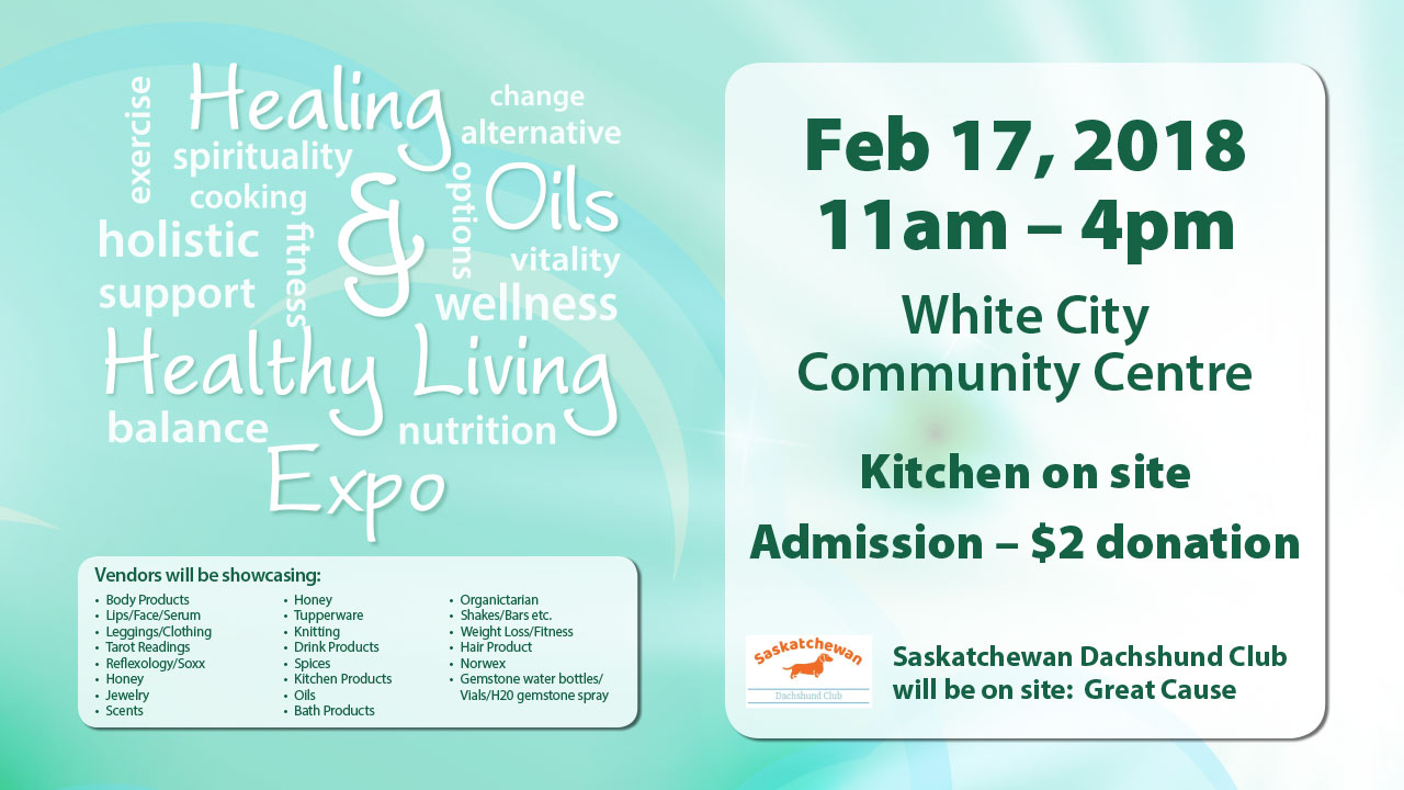 Healing Oils & Healthy Living Expo