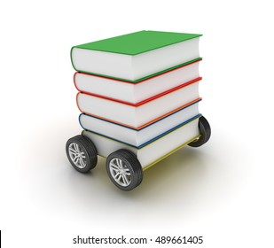 Library: Books on Wheels WOW