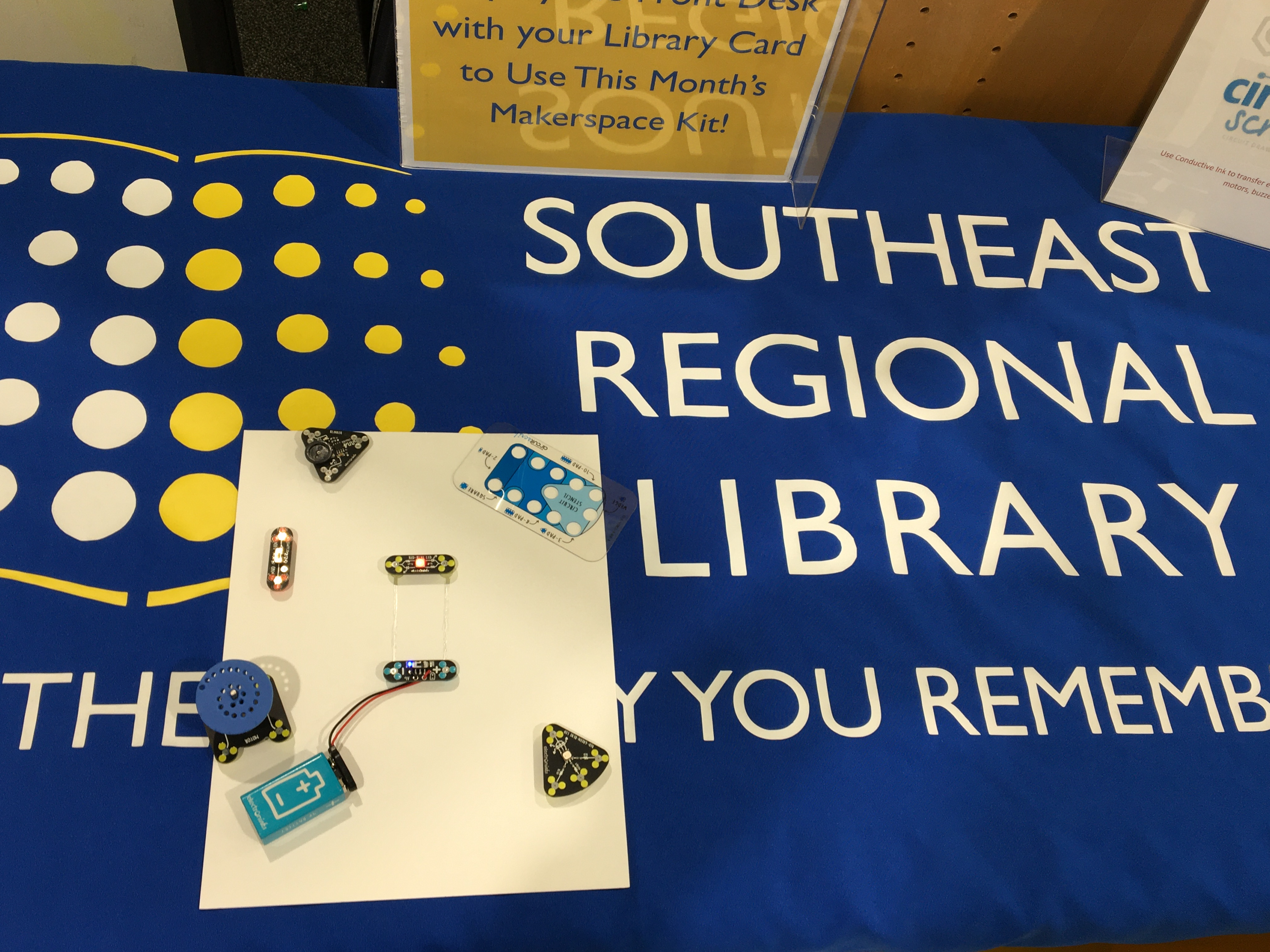 Library: Circuit Scribe Makerspace
