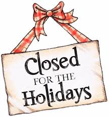 Library: Closed for the Holidays