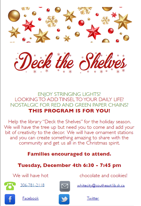 Library: Deck the Shelves
