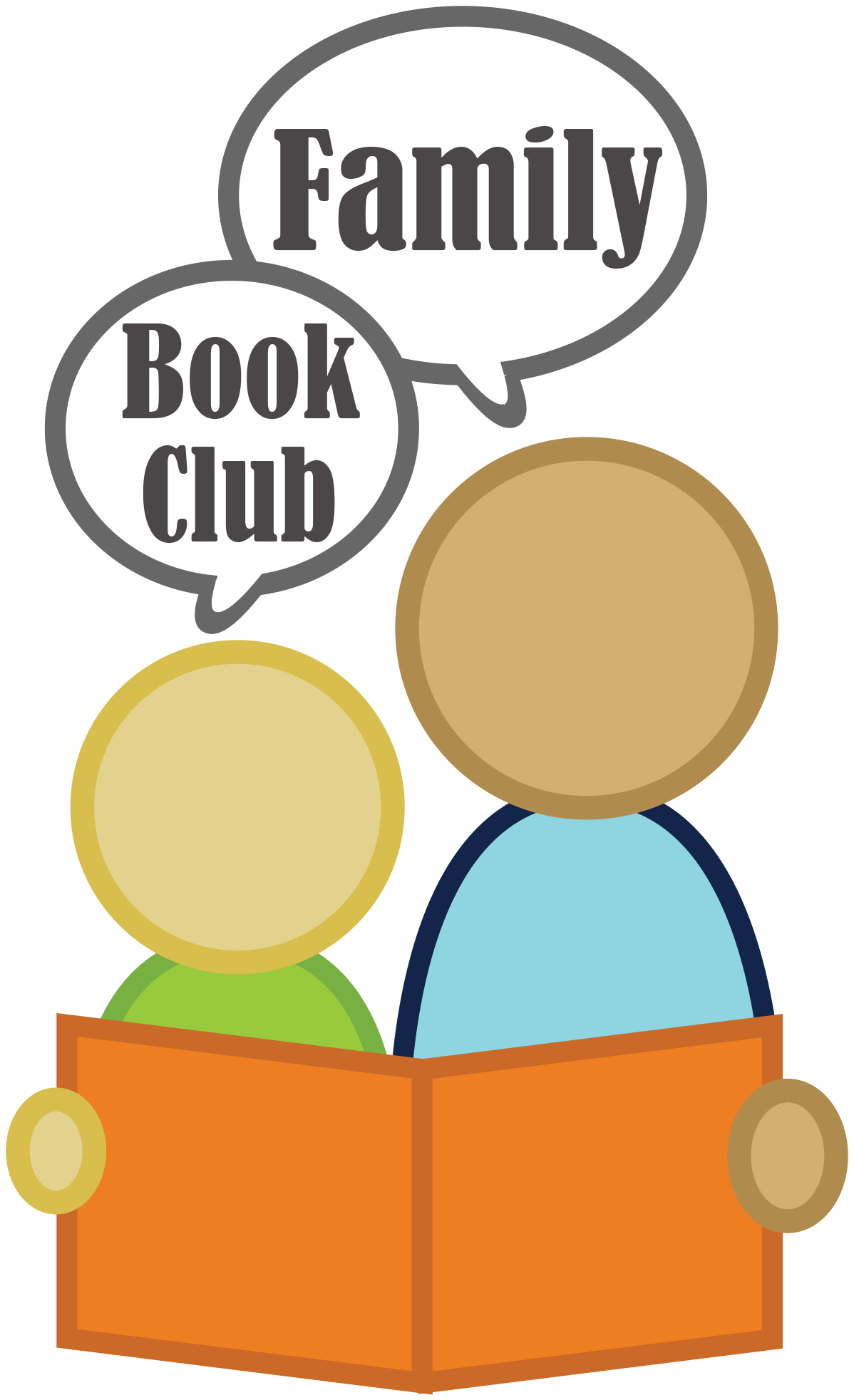 Library: Family Book Club (registration required)