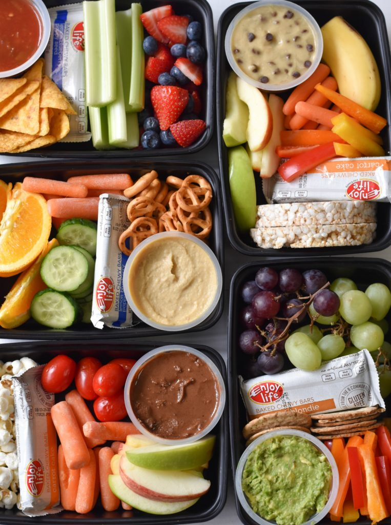 Library: Healthy Snacks & Lunches