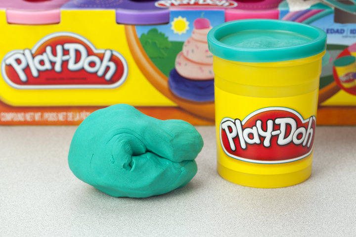 Library Play-Doh Time
