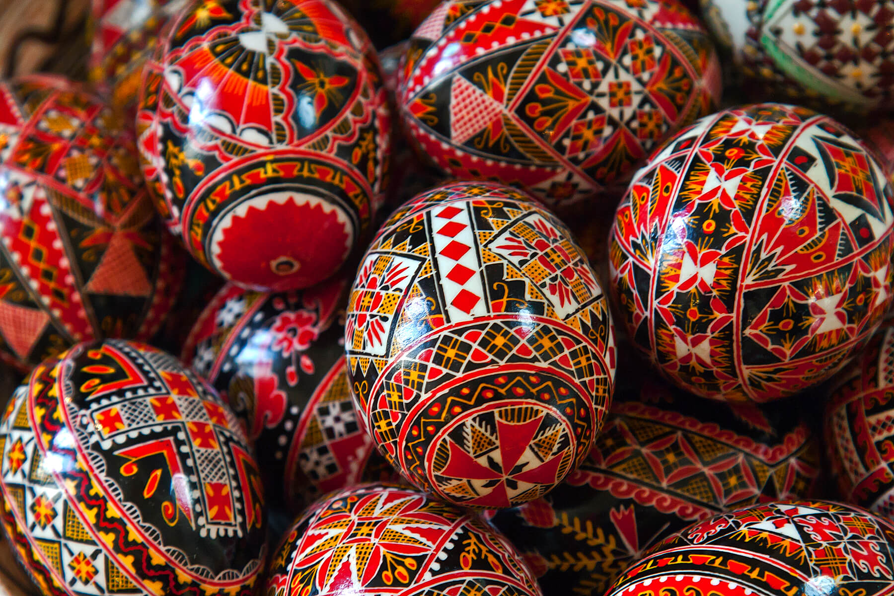 Library: Romanian Egg Decorating