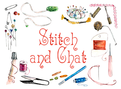 Library: Stitch & Chat (Drop-in)