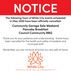 May 2020 Event Cancellations