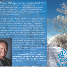 A Christmas Message from the Town of White City