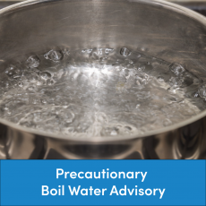 Precautionary Boil Water Advisory - Emerald Creek Area