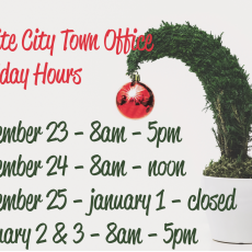 Town Office Christmas Holiday Hours