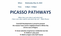 Public Open House for Picasso Pathways Development