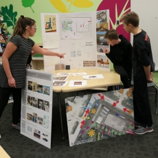 Presentation by Emerald Ridge Elementary School Architecture Club