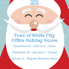 White City Town Office - Holiday Hours