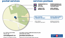 Canada Post Office - New Location Effective March 15, 2021