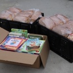 Bread & Books Delivery to North Central Family Centre