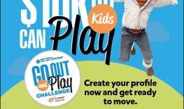 Register for Go Out and Play Challenge Now!