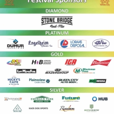 Thank you Summer Festival Sponsors and Volunteers!