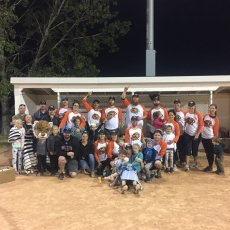 Congratulations to the Win or Booze Tigers - this year's Slo-Pitch Tournament Champions!