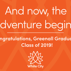 Congratulations to the Greenall Graduating Class of 2019