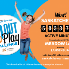 Go Out and Play Challenge 2021: Congratulation to Meadow Lake